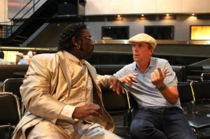 Mud Morganfield with Hugh Laurie, Chicago 2012