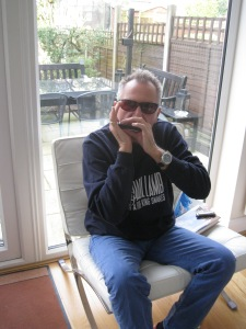 Paul Lamb in sweatshirt March 2015